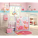 Carters-Sea-Collection-Secure-Me-Crib-Liner-Pink