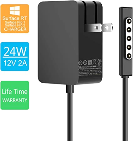 Power Supply Charger for Microsoft Surface Pro 1 2 RT 1512 1516 1513 1514 1536