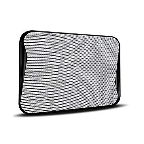 Kangsur Portable Laptop Cooler Silent Adjustable Ergonomic Detachable Notebook Cooling Pad,Black by Kangsur