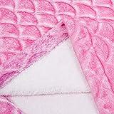 softan Mermaid Tail Blanket for Kids Teens