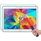 Samsung Galaxy Tab 4 10.1 Screen Protector, Kuteck® Tempered Glass Screen Protector for Galaxy Tab 4 10.1-inch SM-T530