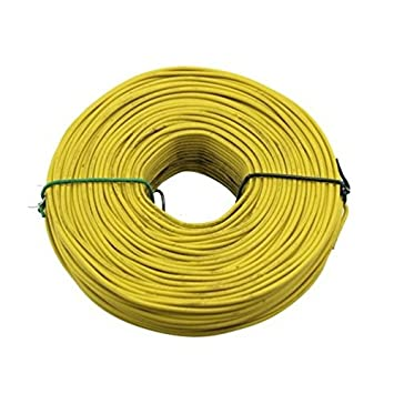 Amazon.com: 3 lb. Coil 16-Gauge Coated Rebar Tie Wire (Color of ...