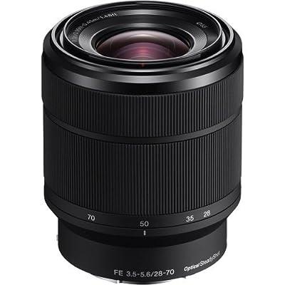 Sony 28-70mm F3.5-5.6 FE OSS Interchangeable Standard Zoom Lens (SD Card Bundle)