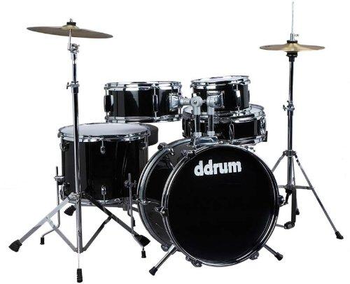 ddrum-d1-jr-complete-5-piece-drum-set-black