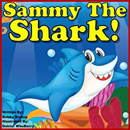 childrens book sammy the shark finds four friends colorful childrens books series - Colorful Fish Book