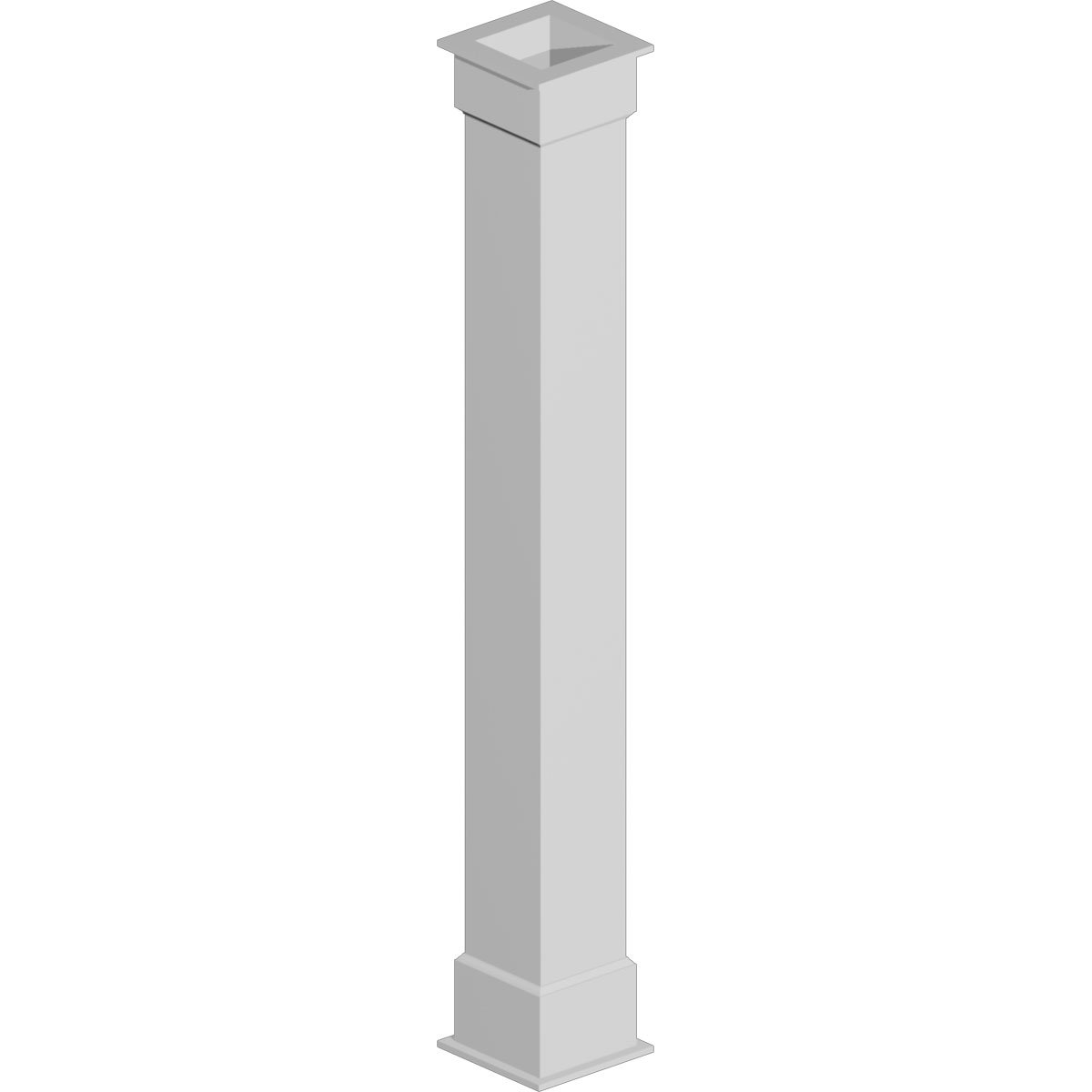 COLUMN WRAP KIT 12X72 P 1BX, NON TAPERED PLAIN
