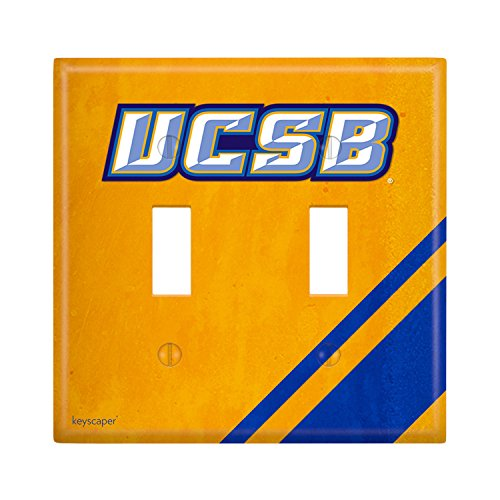 Cal Santa Barbara Gauchos Double Toggle Light Switch Cover - Ucsb Gift Shop