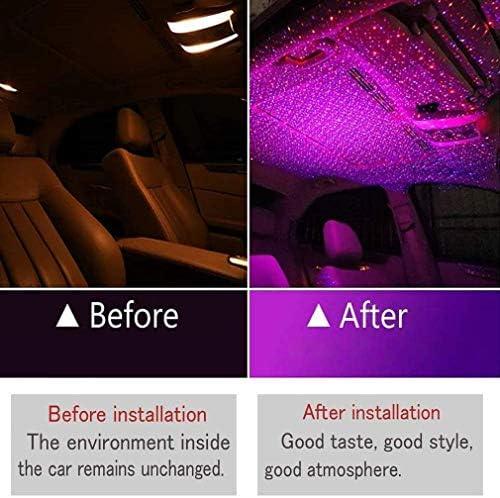 FOONEE Car USB Atmosphere Ambient Star Light Car Interior Lights Decorative Romantic Auto Roof Star Projector Lights Plug /& Play Car Home Ceiling Romantic USB Night Light for Car//Home Party