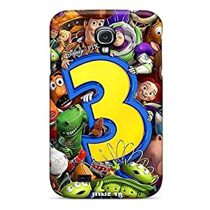 Durable Toy Story 3 Back Cases/covers For Galaxy S4