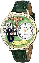 Whimsical Watches Unisex G0620056 Nurse 2 Analog Display Japanese Quartz Green Watch