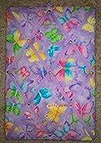 Butterflies French / Memo Board (10'' X 15'')