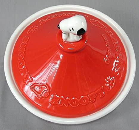 Amazon.com: Snoopy set temas (Rojo) Tajín de Snoopy Pot ...