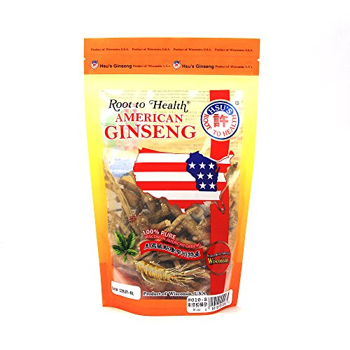 Hsu's Ginseng SKU 0010-8 | Mixed Variety Root | Cultivated Wisconsin American Ginseng Direct from Hsu's Ginseng Gardens | 许氏花旗参 | 8oz Bag of Wisconsin Ginseng Roots, B079HNL2MK Review
