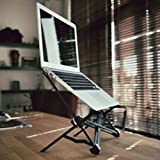 BigFamily Laptop Stand Fold Portable Bracket Protect Cervical Spine Suitable for 11.6 inches above Laptop