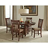 Mission Casual Dark Planed Oak 42x42-60 Dinette Table
