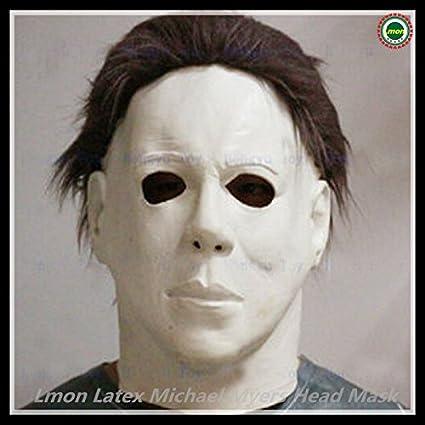 2057 nueva Dulex partido Cosplay disfraz de Halloween máscara de látex Michael Myers de la película