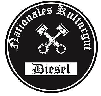 Nationales Kulturgut Diesel Aufkleber Auto Aufkleber Sticker