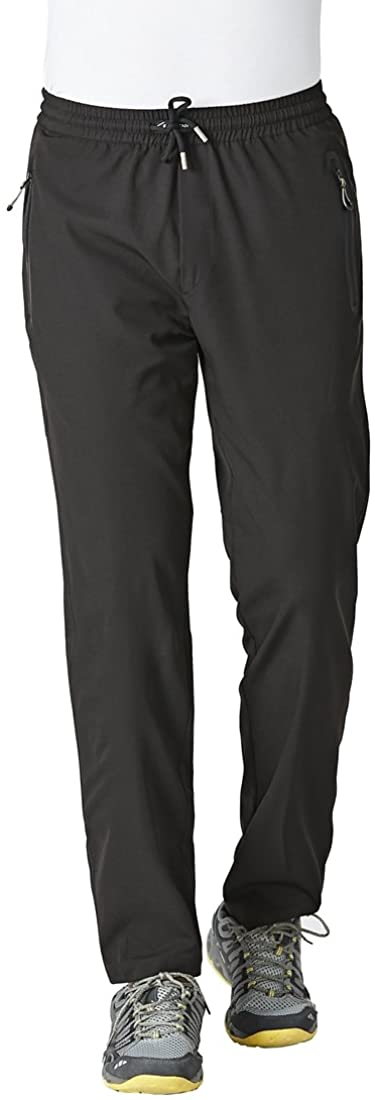 Rdruko Mens Quick Dry Sweatpants Workout Running Sports Lounge Pants with Pockets