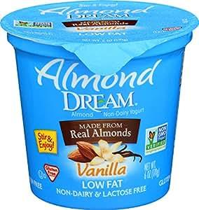 Amazon.com : Almond Dream Non Dairy Low Fat Vanilla Yogurt ...