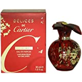 Delices De Cartier Eau De Parfum Spray by Cartier, 1.6 Ounce
