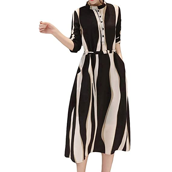 Women's Gown A-Line Casual Maxi Dress