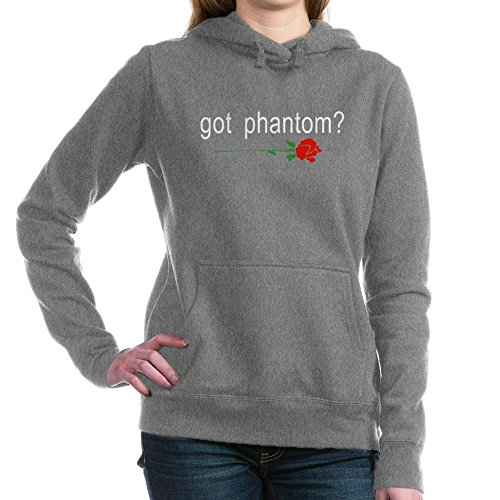 CafePress - Gotphantom.Png - Pullover Hoodie, Classic & Comfortable Hooded Sweatshirt Charcoal Heather