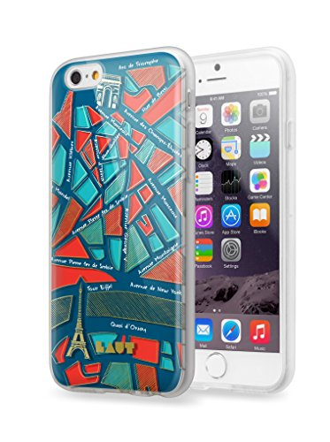 Laut (Borneo) 731240Schutzhülle für iPhone 6/6S Motiv Nomade Paris