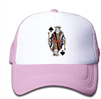 zhumaya King and Queen Poker Cards Mesh Gorra de béisbol Niño ...