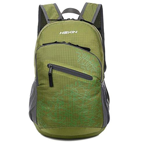 Packable Tear-resistant Travel Lightweight Waterproof Backpack 33L Lifetime Warranty(Green)
