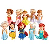 Collections Etc Girls Little Princess Dolls - Set of 10