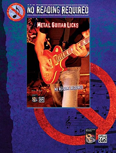 No Reading Required: Metal Guitar Licks with Ken Steiger [Instant Access]