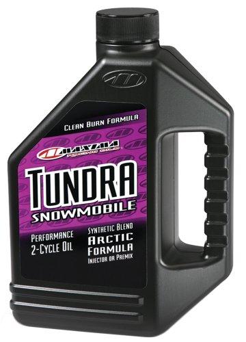 (Maxima 249128 Tundra Snowmobile 2-Stroke Premix/Injector Oil - 1 Gallon)
