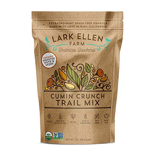 Lark Ellen Farm Cumin Crunch Trail Mix Certified Organic Vegan Snacks made from Sprouted Nuts and Seeds, 1 LB Review