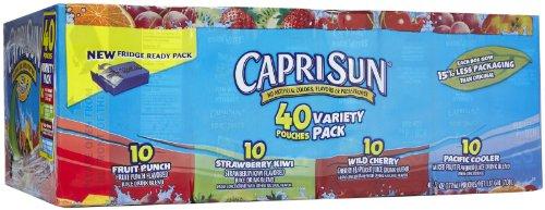Capri Sun Juice - Variety Pack - 6 oz - 40 ct