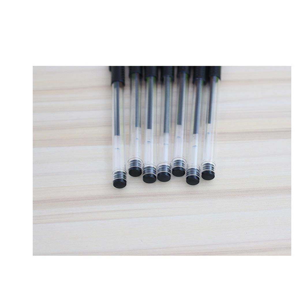 tiowea Penna di cancelleria Materiale Scolastico Penna Gel Penna Neutra Penna in Carbonio 0,5 mm Penne e ricariche