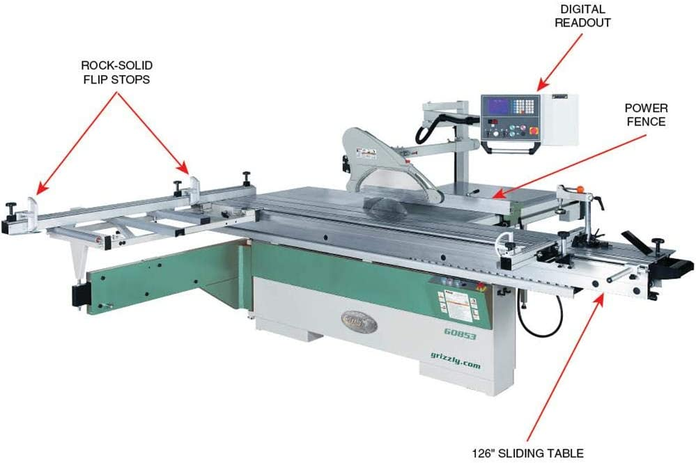 Grizzly G0853 Table Saws product image 3