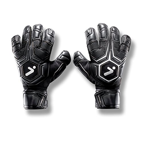 - Storelli Gladiator Pro 2 Goalkeeper Gloves |High Perfomance Soccer  Goalkeeper  Gloves |Highest Grade German Latex |Sweat-Wicking|Black