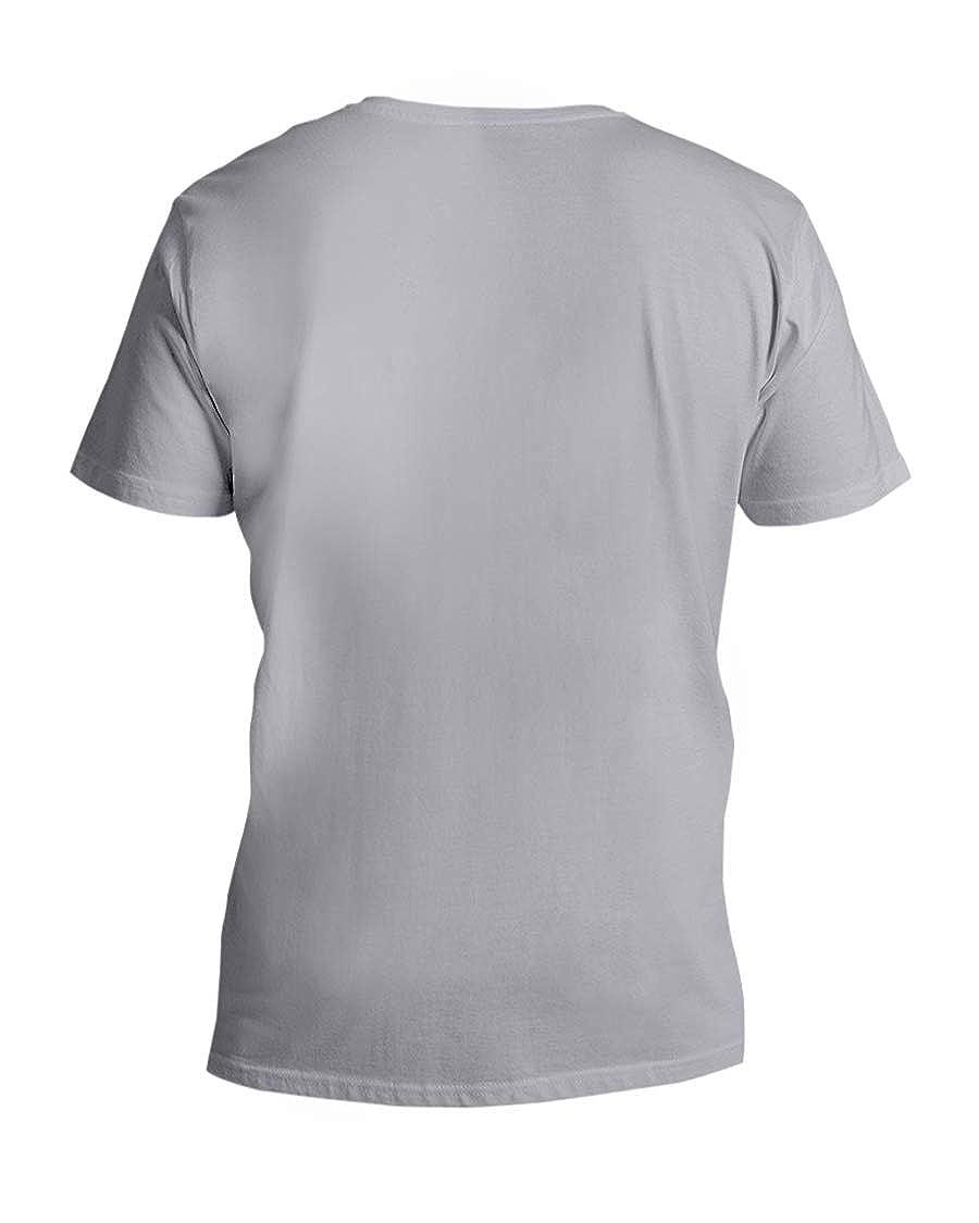 Cindy foxs Medieval Dragon V-Neck T-Shirt Ash M
