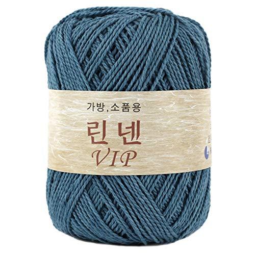 Linen VIP Crochet Making Bag Yarn, Denim