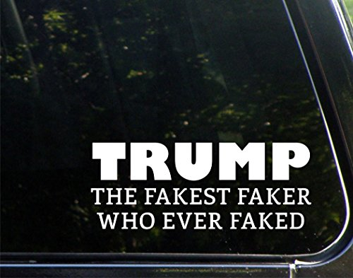 Vinyl Productions Trump, The Fakest Faker Who Ever Faked - 8-1/2