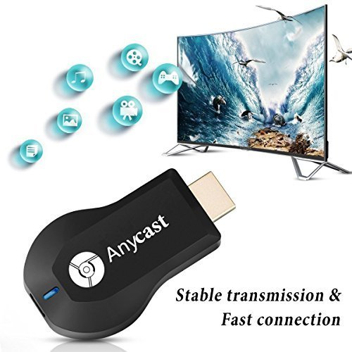 Wishpower WiFi Display Dongle,Wishpower 2018 WiFi Wireless 1080P Mini Display Receiver HDMI TV Miracast DLNA Airplay for IOS/Android/Windows/Mac(New Version) by wishpower (Image #5)