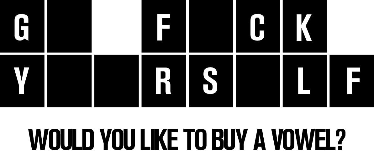 F**k U Sticker Decal Screw U Funny Vinyl F It FCK F U vinyl decal sticker