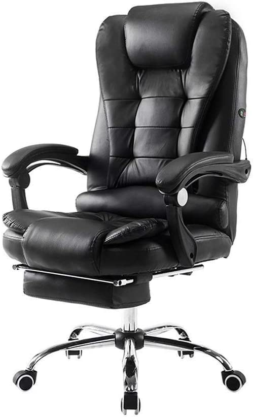 Silla de oficina reclinable con soporte lumbar - Silla ejecutiva ...
