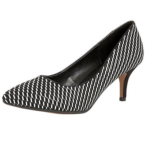 Lotus Petra negro 10.0x 15.0–corte zapatos Multi & Black