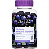 Zarbee's Naturals Elderberry Immune Support* Gummies with Vitamin...