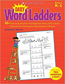 811458a4a0b10 Daily Word Ladders  80+ Word Study Activities That Target Key Phonics  Skills to Boost Young Learners  Reading