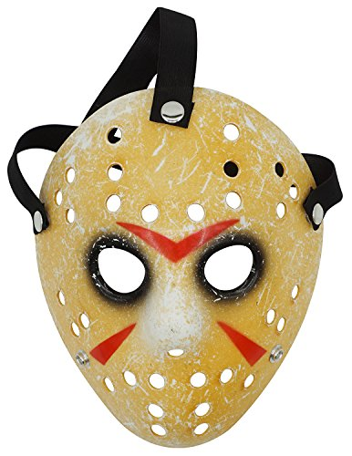 Lovful Costume Mask Prop Horror Halloween Cosplay Party Mask,Black -