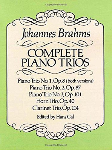 Complete Piano Trios (Dover Chamber Music (Chamber Trio)