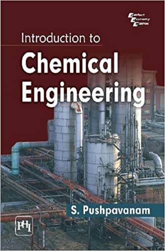Introduction to Chemical Engineering: S  Pushpavanam: 9788120345775