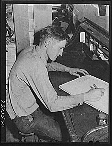 1942 Gem - HistoricalFindings Photo: Ola,Idaho,ID,Gem County,Farm Security Administration,FSA,Russell Lee,1942,14